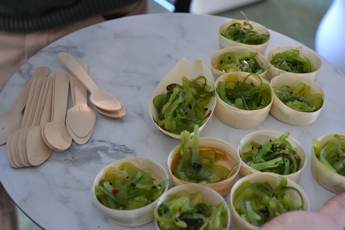 Jellyfish salad – a sustainable future food on offer at the Science week event