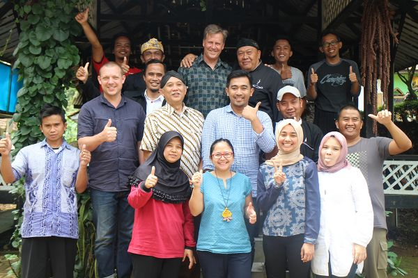 Sebastian Thomas on fieldwork with Indonesia